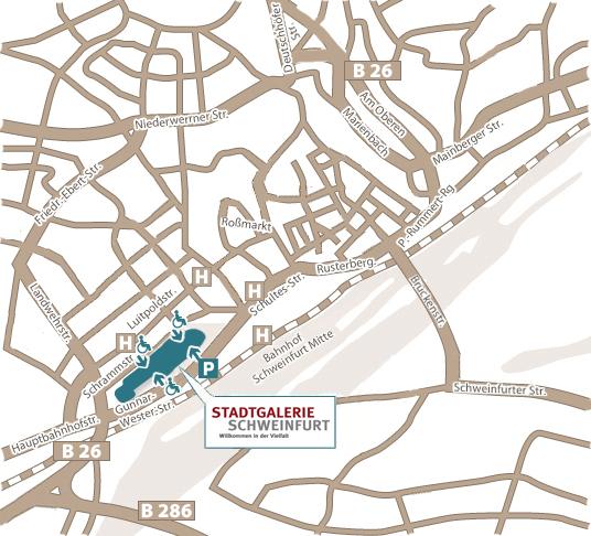Shopping im Herzen Schweinfurts | Stadtgalerie, Schweinfurt
